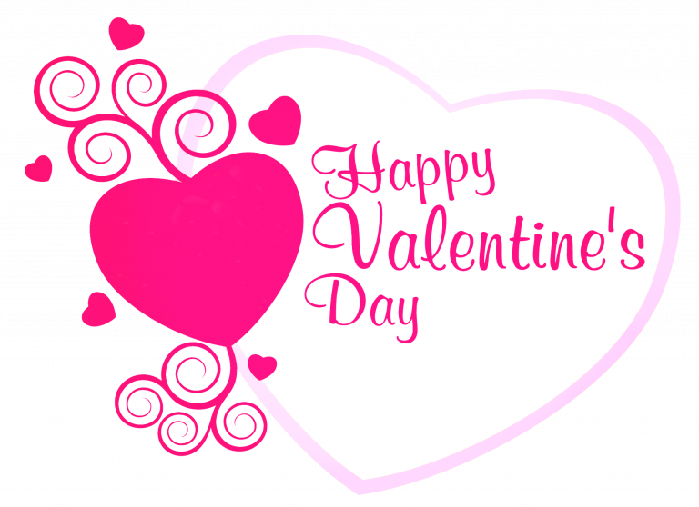 transparent library Animated Free Happy Valentines Day Clipart Images in Black