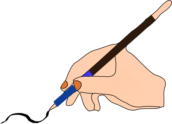 transparent library To write clipart. Pen ink clip art.