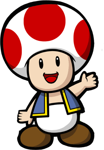 graphic freeuse library toad mario clipart #65769978