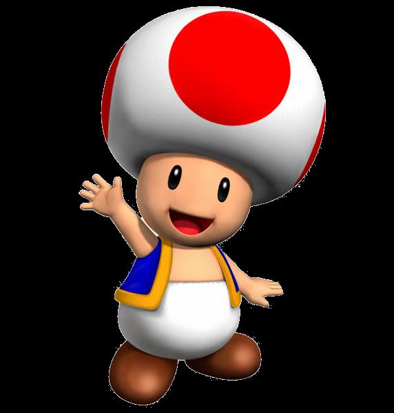 banner freeuse super clip toad mario #104083764