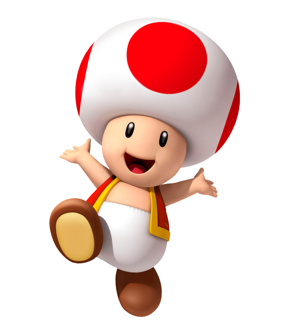 clipart royalty free library I love from the. Toad mario clipart