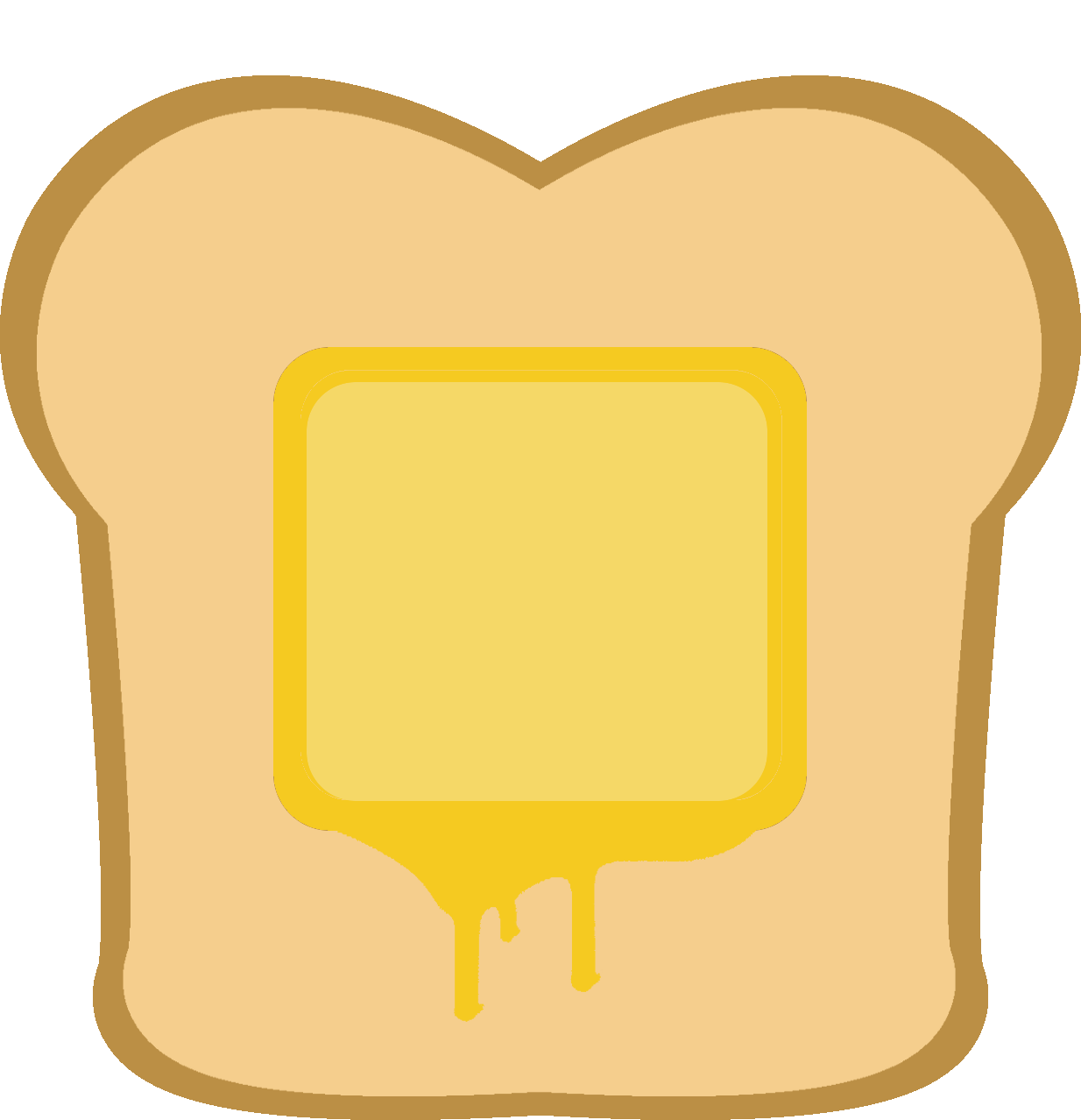image free download Toast clipart. Butter buttered free on.