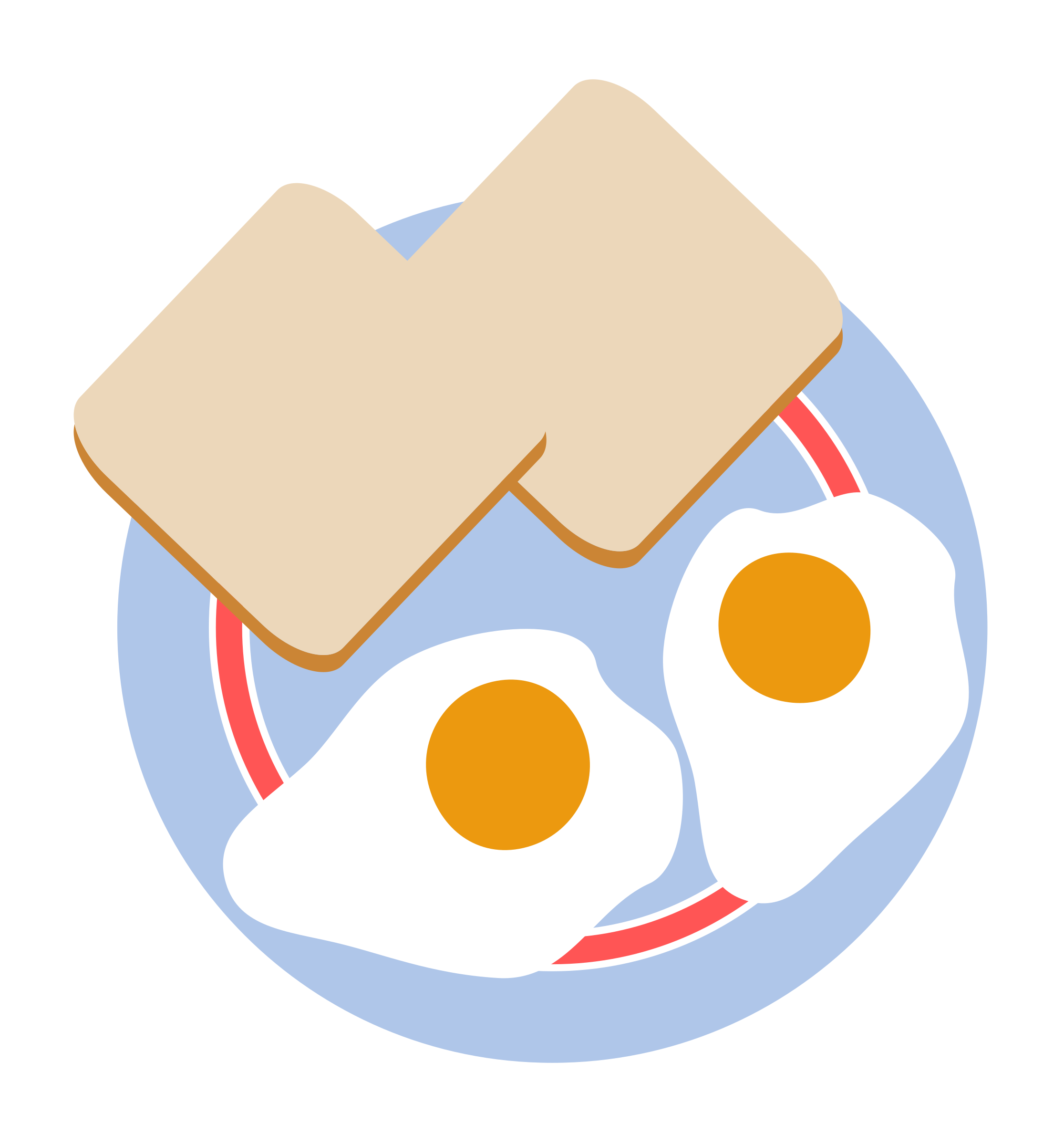 clip art royalty free stock Toast clipart. Bull s eye eggs.