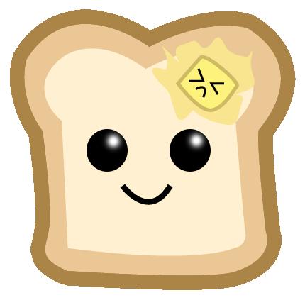 banner Cute little toast by renbunny on DeviantArt