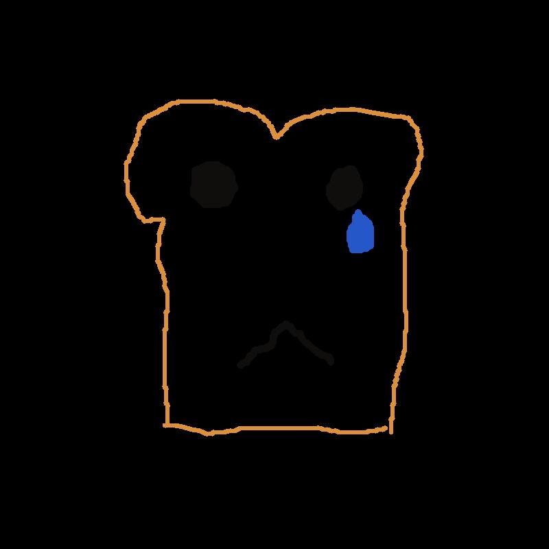 svg freeuse download Sad toast by Divinix on DeviantArt