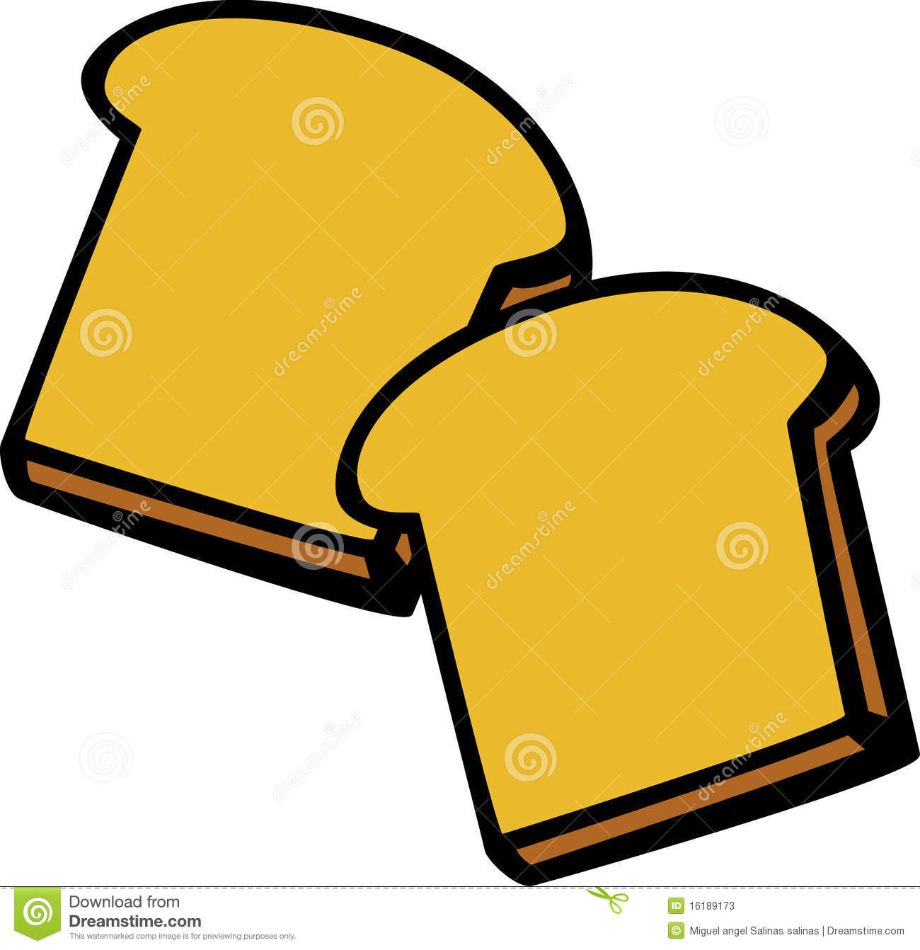picture library Slice of bread free. Toaster clipart stock photo