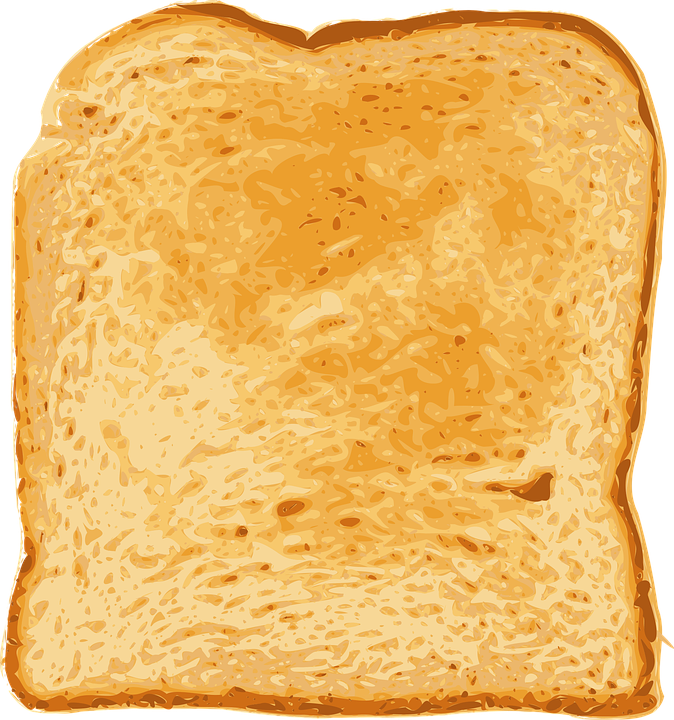 clip art transparent library Toast Clipart slice bread
