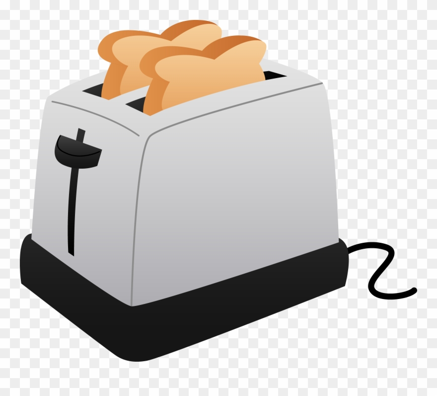 graphic transparent Toaster clipart bread. And slices of toast