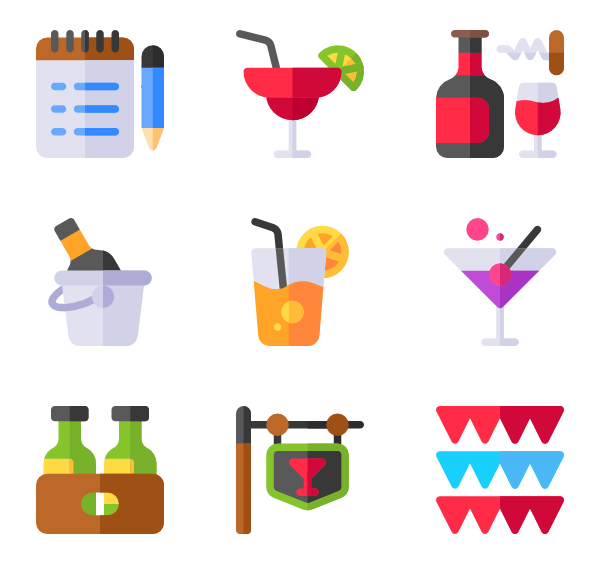 banner free stock Toast icons free. Bar vector beer