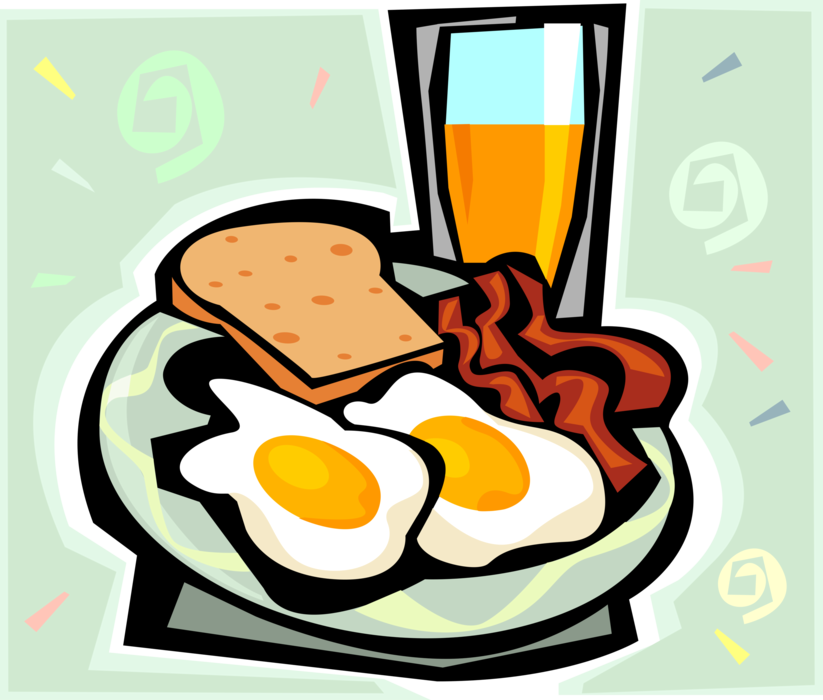 svg free Bacon and Eggs