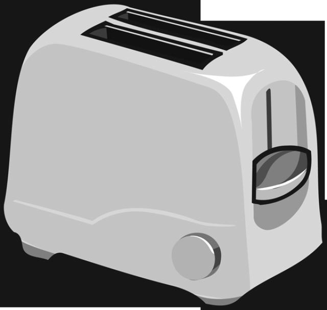 vector freeuse Toaster clipart. Clip art toast transprent