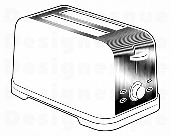 clipart transparent download Toaster clipart appliance. Etsy