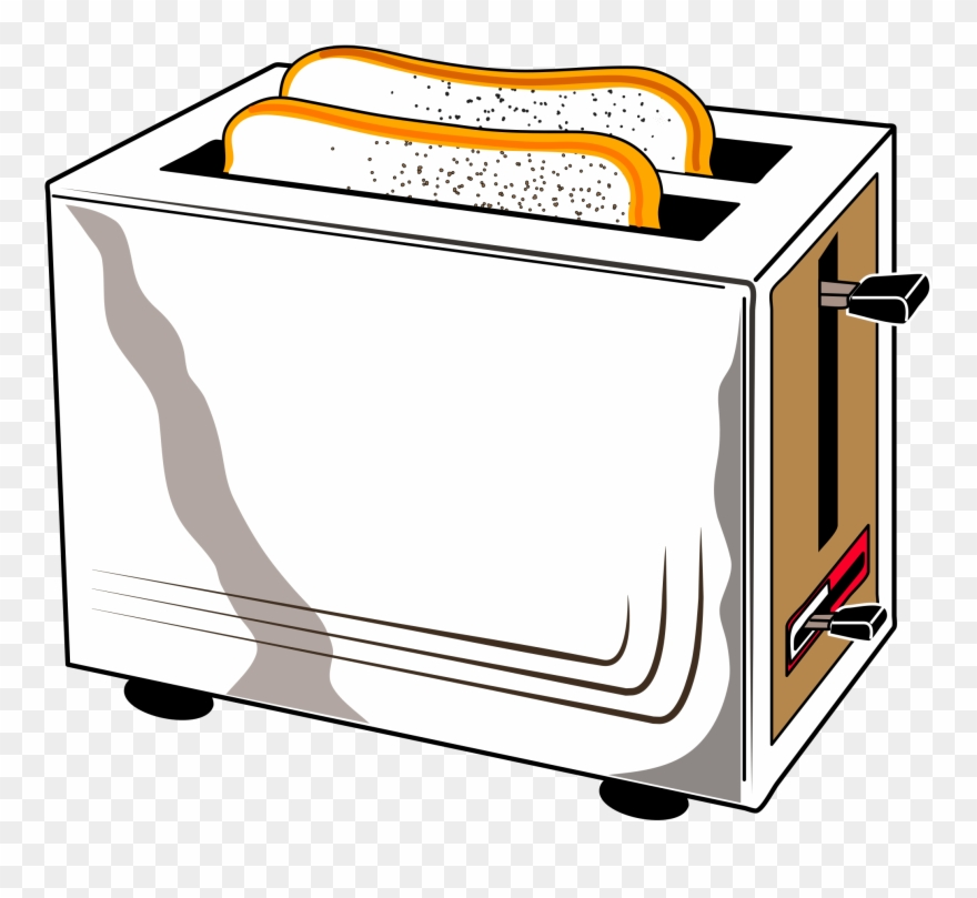 jpg black and white download Home can stock photo. Toaster clipart appliance