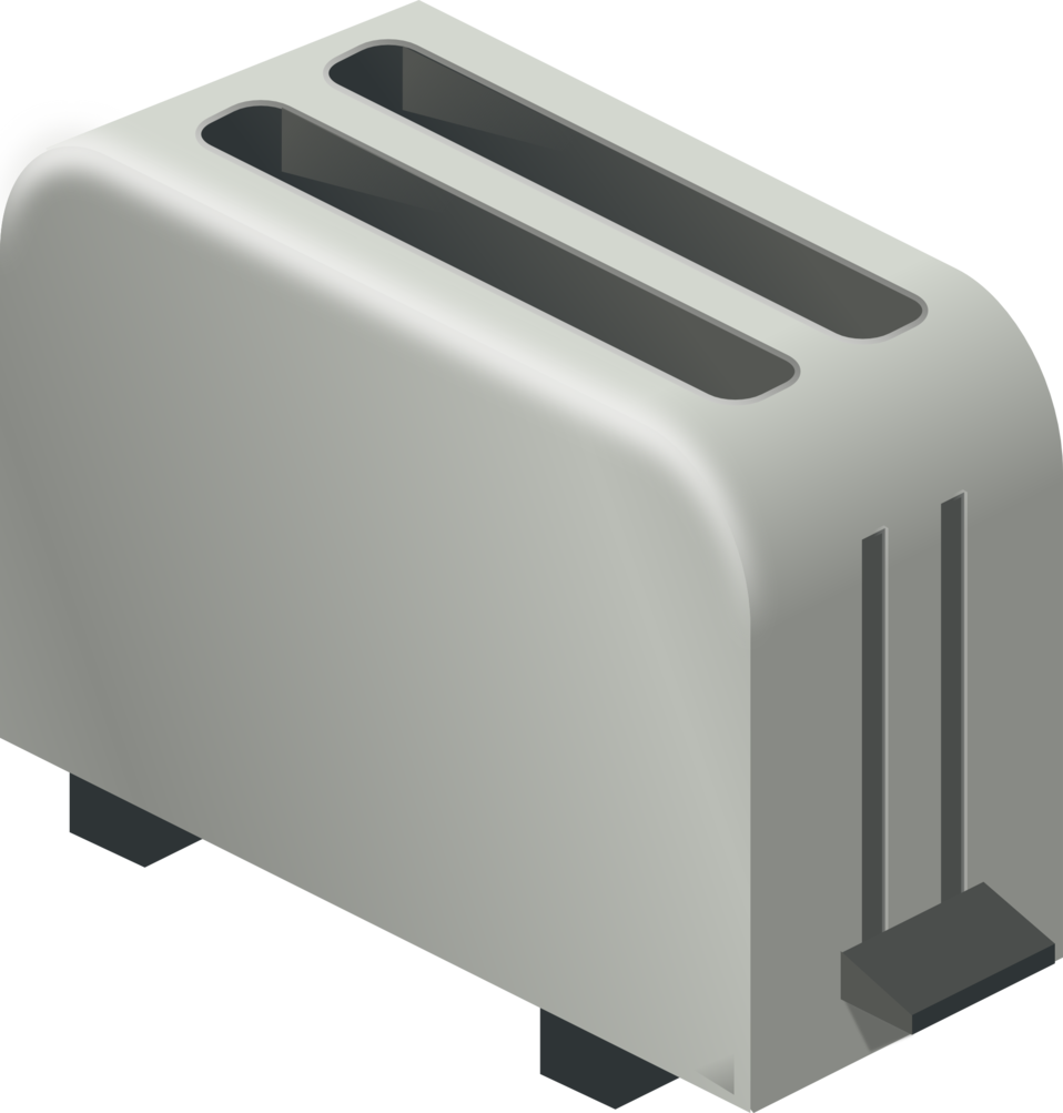 transparent Public domain clip art. Toaster clipart appliance
