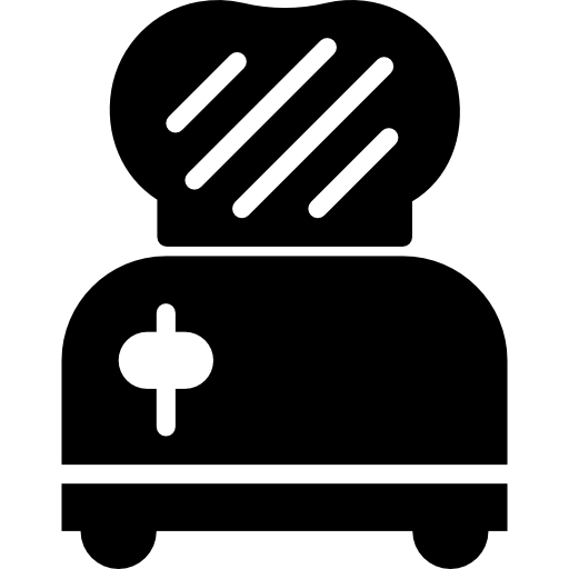 clip royalty free stock Toaster clipart breakfast toast. Icon page png svg