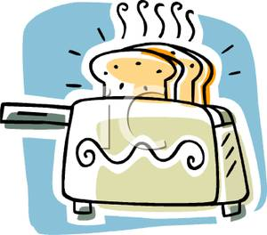 picture library stock Toaster clipart cartoon. A royalty free picture.