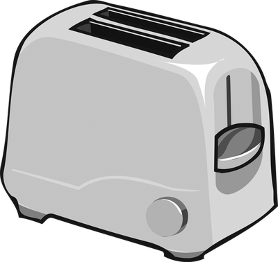 svg library stock Clip Art of a Toaster