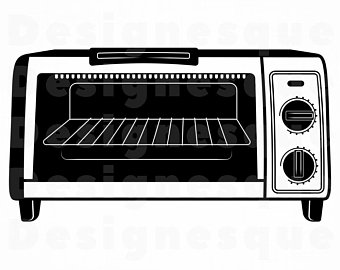 banner black and white Toaster clipart clip art. Etsy .