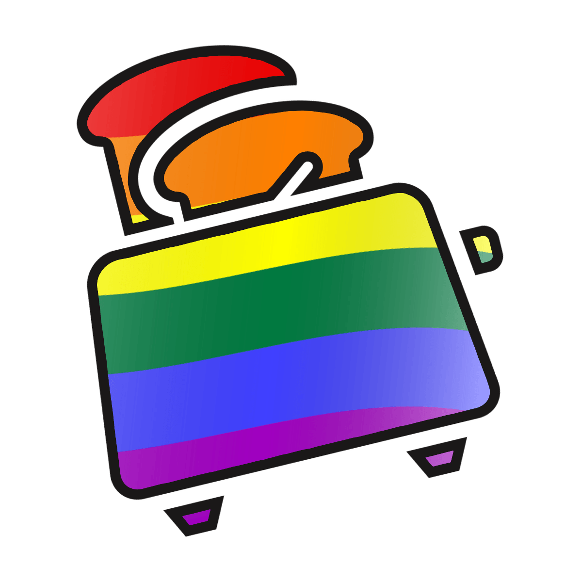 graphic transparent download Toaster clipart dead. Characters with the queers