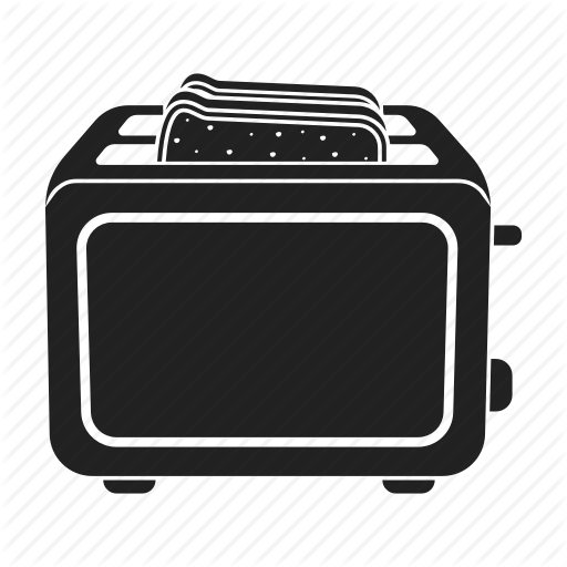 clip library Toaster clipart electrical appliance.  household appliances by