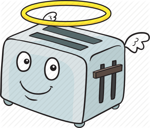 image stock Iconfinder cartoon smileys by. Toaster clipart emoji