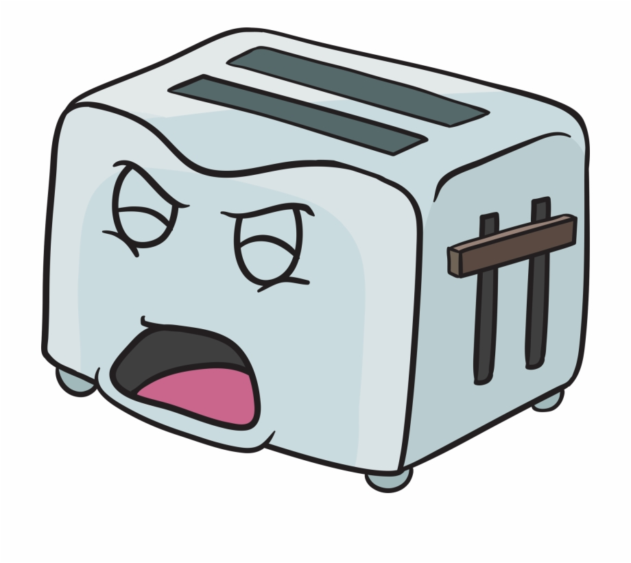 image library download Pop up screaming out. Toaster clipart emoji.