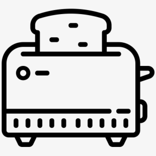clip black and white Toaster clipart epic. Oster equipment for sandwich