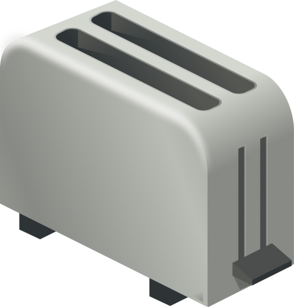 clipart library download Toaster clipart generic. Free clip art isometric