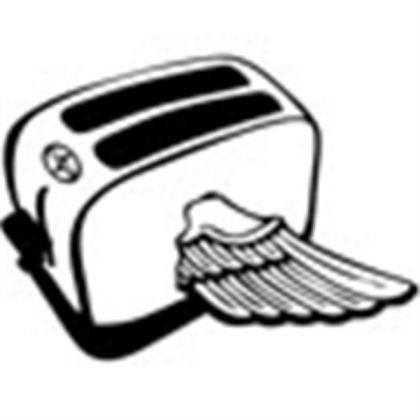 clipart download Flying roblox . Toaster clipart generic