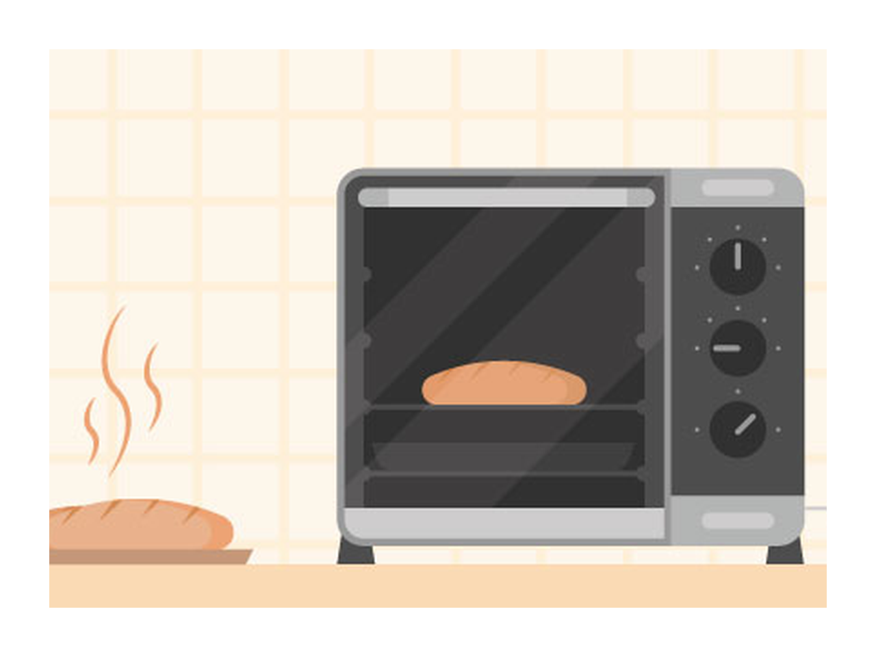 clip art royalty free Toaster clipart oven. Illustration make a baked
