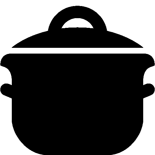 banner royalty free library Food cooking pot icon. Toaster clipart rice cooker