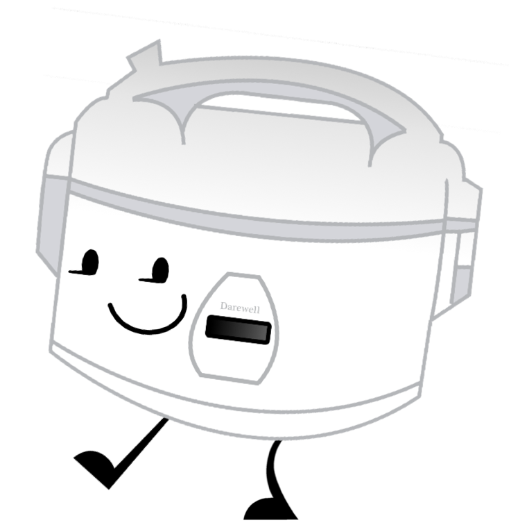 graphic library library Toaster clipart rice cooker. Image pose png object