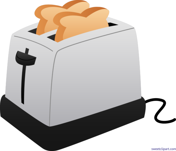 jpg freeuse stock Sweet clip art page. Toaster clipart sketch