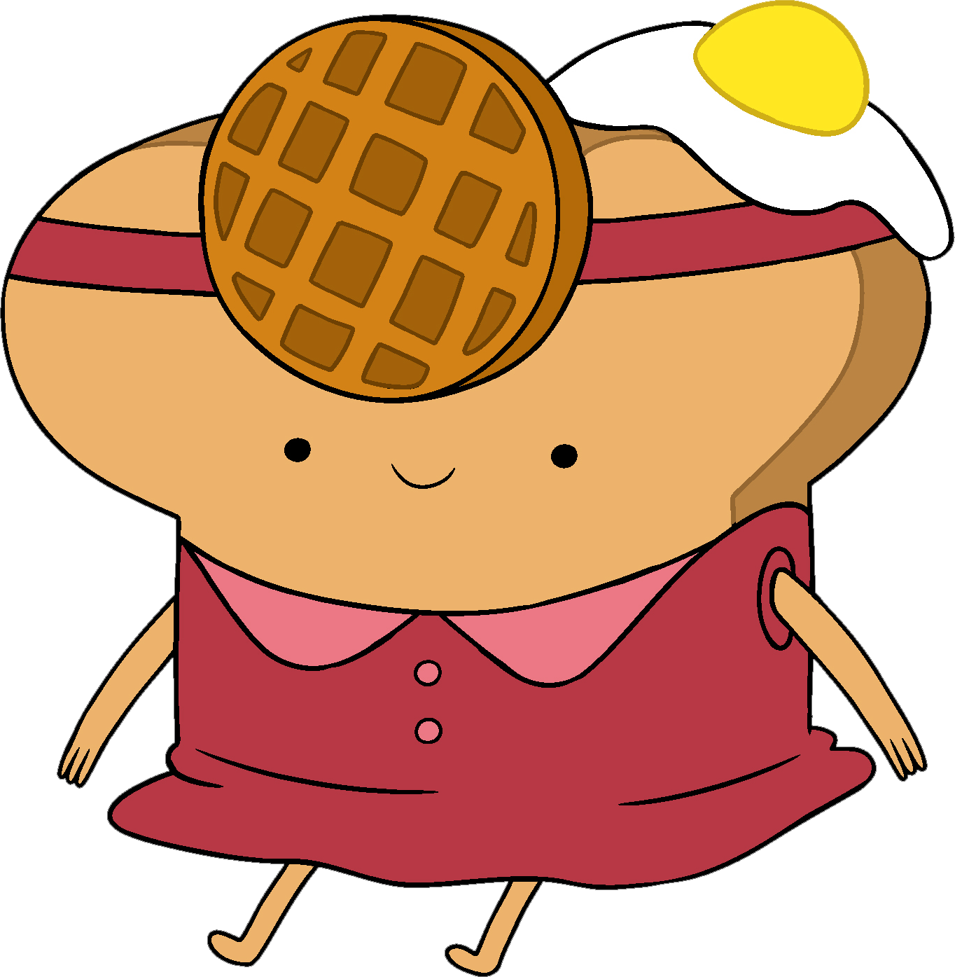 banner free stock Toaster clipart toasted bread. Toast princess adventure time