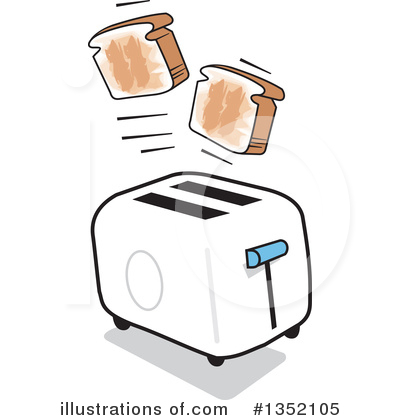 graphic royalty free stock Illustration by johnny sajem. Toaster clipart