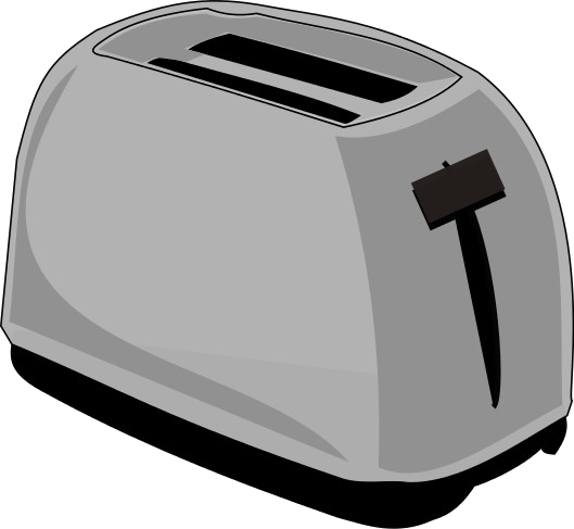 royalty free stock Toaster clipart transparent background. Png mart