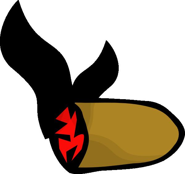 vector transparent library Smoke Cigar Stub Clip Art at Clker