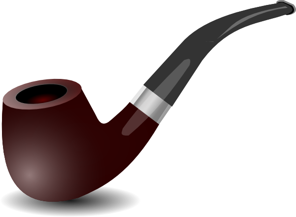 freeuse Tobacco Pipe Clip Art at Clker