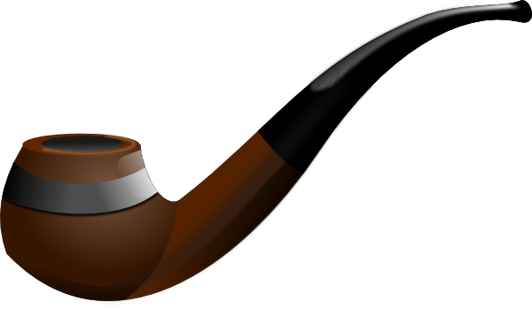 clipart transparent library Tobacco Pipe Clip Art at Clker