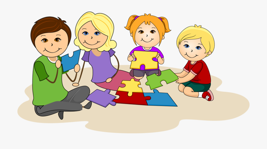 clip art black and white Children together clip . Kids working clipart