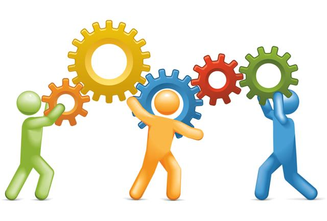 clip art library download Free clipart people working. Together images download clip.