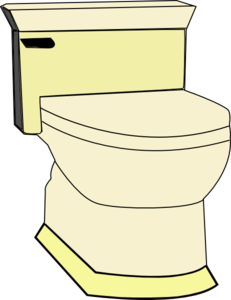 picture black and white library Toilet clipart. Clip art at clker