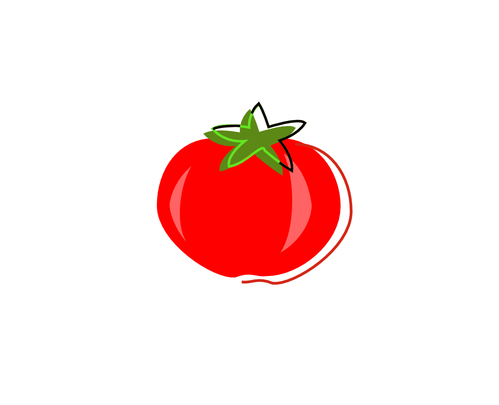 vector royalty free Tomato clipart diced tomatoes. Knowledge the name is