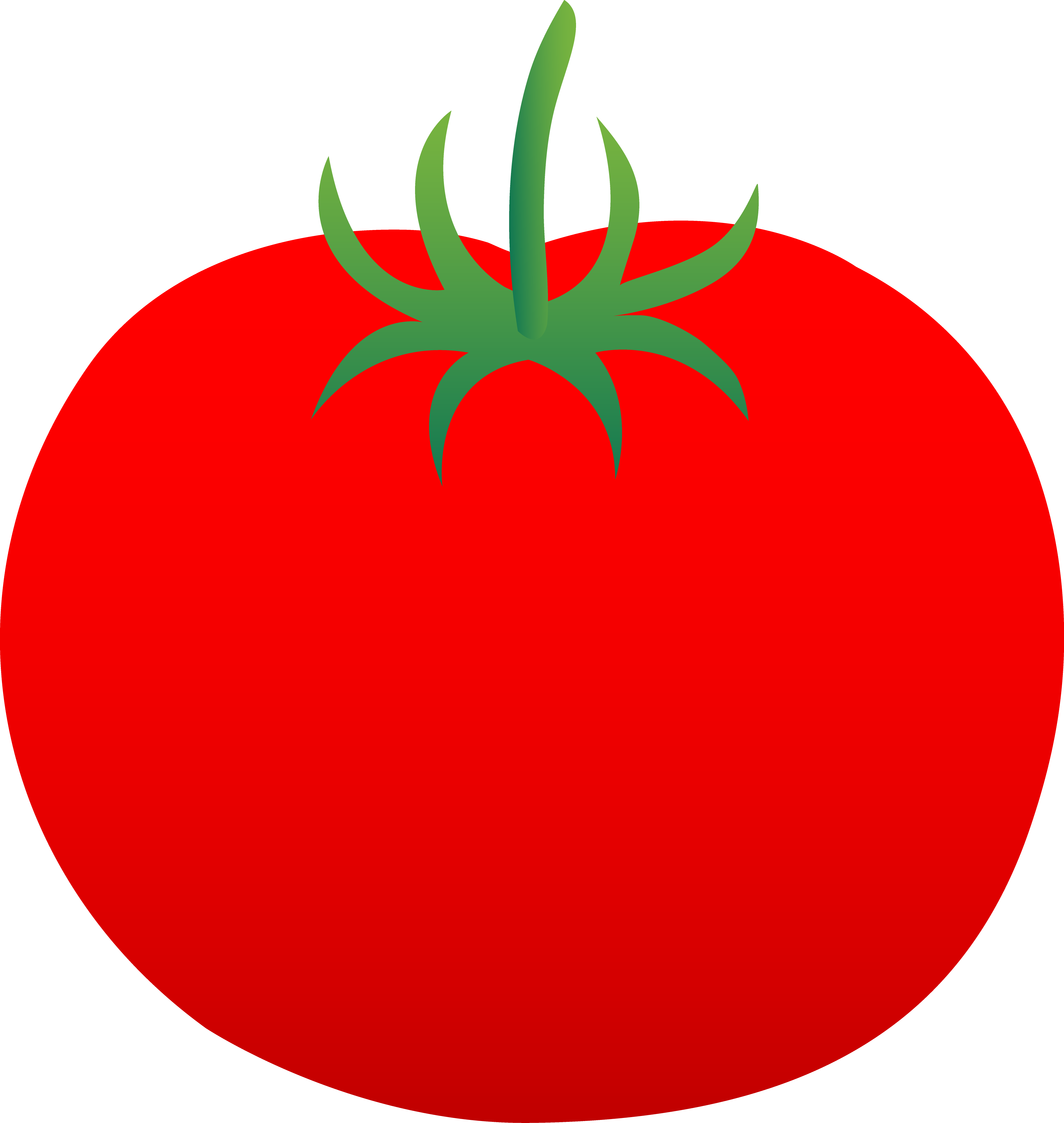 freeuse stock Clipart . Vector tomato