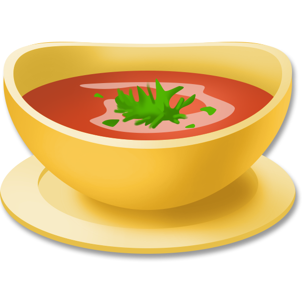 picture black and white tomato soup clipart #67537175