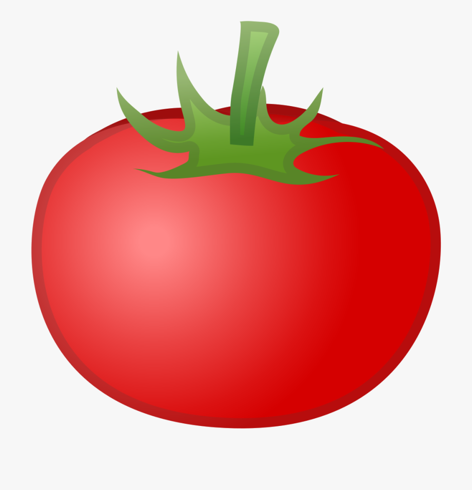 jpg free library Tomato red object icon. Tomatoes clipart.