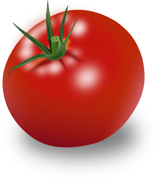 graphic royalty free stock Clip art at clker. Tomatoes clipart.