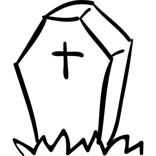 picture stock Collection of free coffined. Coffin clipart cross.