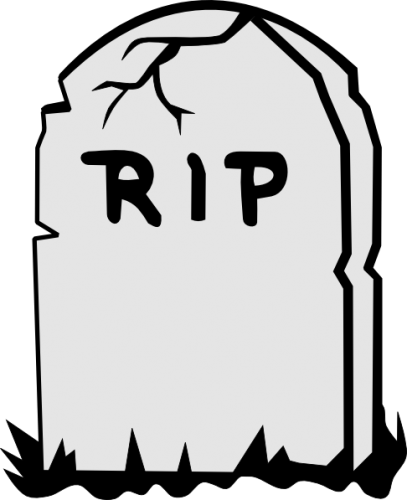 svg royalty free download Blank Tombstone Coloring Page