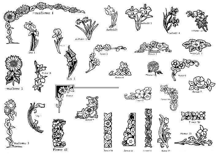 picture stock Flowers designs grave headstones. Tombstone clipart flower